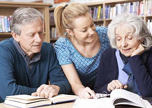 Lifelong Learning for the Memory Café